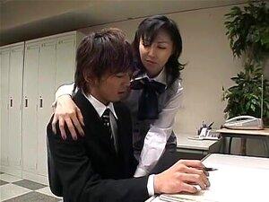 วัยรุ่นญี่ปุ่นกิ Mio ใน Amazing เลขานุการ JAV กลืนคลิป