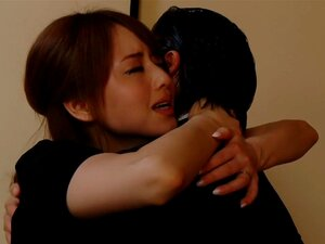 Horny Japanese chick Akiho Yoshizawa in Amazing lingerie, stockings JAV scene,