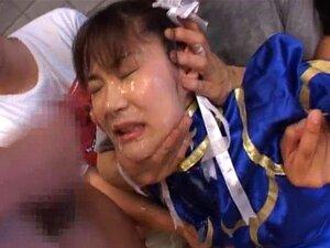 Asuka Ohzora Cosplay chick in bukkake part2