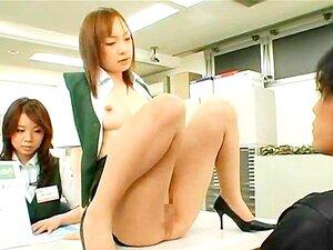 Public big breast exams at a strange Japan post office