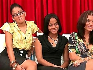 Real Women Judging Cocks on TV Porn Show