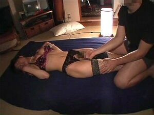 japanese wife in stocking three-two,