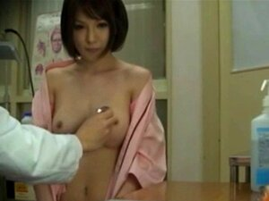 Real nippon watched by peeping tom. Real nippon watched by peeping tom as she visits the doctor