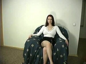 Rothaarig und geil Teil 2, Another video of a brunette chubby camslut who wants everyone to see how horny and willing to be fucked hard she is