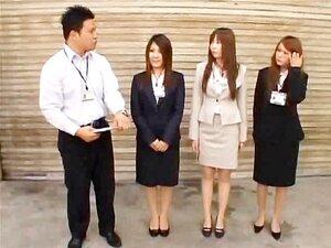 ญี่ปุ่น hotties เข้าร่วมประชุม