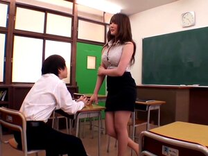 Nishina Hundred Flower Class Female Teacher Gently Big Pies,