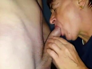 Granny blow piss and creampie, Granny blowing my cock and pissing hot pee all over me... then i fucked her doggy style and creampied her...