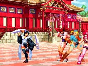 MUGEN - Iroha Gets Gangbanged By Three Futas