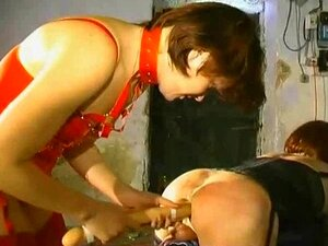 TV slave and Mistress