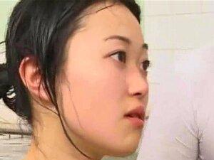 มองไม่เห็นคน Jizzes เย็ด!, craziest ญี่ปุ่นโป๊วิดฉันเคยเห็นอย่างใดอย่างหนึ่ง เพื่อนมองไม่เห็น fucks สาวใด ๆ ในญี่ปุ่น bathouse และ cums หน้าเอเชียสวยที่สุดในสถานที่พระองค์ทรงประสงค์