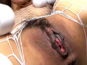 ญี่ปุ่นทึ่งรุ่น Moe Aizawa ในภาพยนตร์ไร้ขนญี่ปุ่น JAV แปลกใหม่