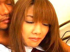 Yu Aizawa ในรองเท้าสีขาวมีโกน nooky เลีย และระยำมาก