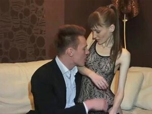 Skinny tramp in stockings blowing hard shaft like no ot. Skinny hooker in lingerie surprising her client with an amazing blowjob