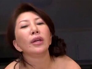 Wako Anto hot mature Asian babe in position 69, Hot mature Asian babe Wako Anto enjoys showing off in upskirt shots of her fine goodies. She swallows her dude's cock and gets a tit fuck once he is warmed up. They get into position 69 for some mutual oral sex ending in a dick ride and a load of cum on her ass!