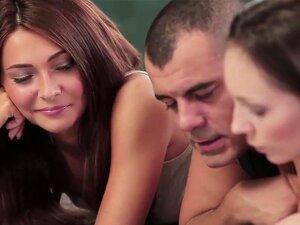 ทารกสุดยอด Alexis สีน้ำตาลพร้อมหัวนมเซ็กซี่รักสาม คุณภาพเร้าอารมณ์ FFM เลสเบี้ยนฉากมี babes ร้อนสุดยอด Alexis และ Von Nataly ทั้งสอง ด้วยกันสวยงามตามธรรมชาติใช้เวลาโหลดบางของสดหน้า cumshot