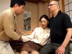 Horny Japanese model Marina Matsumoto in Fabulous Cuckold, Cunnilingus JAV scene,