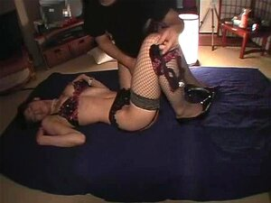 japanese wife in stocking three-two