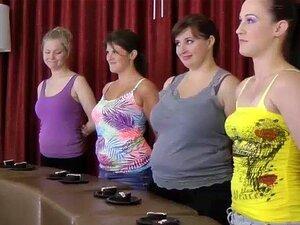 4 Girls endure a Cupcake challenge