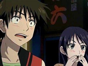 Hentai babe ได้รับยักษ์ใหญ่ของเธอ fondled และบีบ