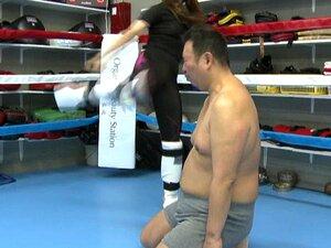 ส่วนการปกครองญี่ปุ่นที่พีซ kickboxing 2