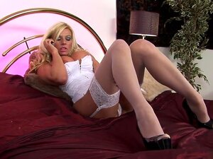 Best pornstar Michelle Thorne in fabulous blonde, european porn movie, Michelle Thorne got all dressed up in sexy white lingerie that accented her big boobs perfectly. Now all she needed to do was dial up her favorite booty call stud. When he arrived, he went right to town sucking her nipples and rubbing her wet twat. After a quick 69, he went to work laying pipe to her pussy before spewing his seed in her mouth.