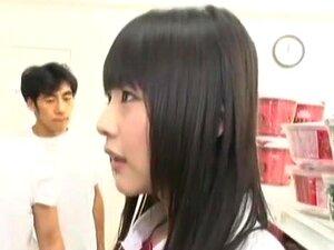 ญี่ปุ่นสาว Ryo Takamiya, Cocomi โอว์ Mashiro โนในหนัง JAV นมเล็กตื่นตาตื่นใจ