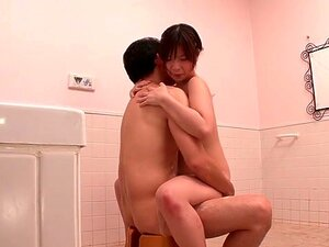 Best Japanese slut Wakaba Onoue in Horny couple, bathroom JAV video