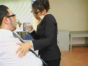 เจี๊ยบญี่ปุ่นร้อนแรงที่สุดชิซูกะ Kanno ในเลสเบี้ยนคลิป Cumshots JAV เลขานุการ