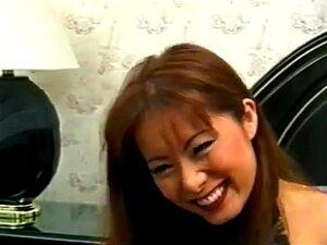 Japanese girl gangbang, Fujiko gets dp