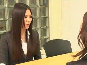 สาวญี่ปุ่น Yuria Shima, Maki Mizusawa อะซูอิโตะในเลขานุการที่ดีที่สุด วิดีโอ JAV ปาก