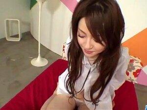 Cock sucking, Ria Sakurai, gets nailed in proper porn scenes