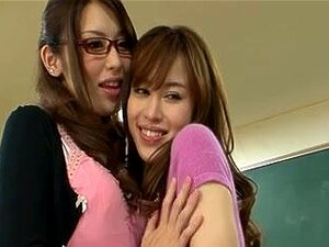 Japanese Lesbian Babes (We are staying home this day and PLAY)three,