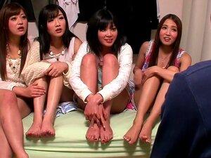 Amazing Japanese whore Uta Kohaku, Haruki Sato, Ayaka Tomada, Hibiki Otsuki in Best group sex, handjobs JAV clip,