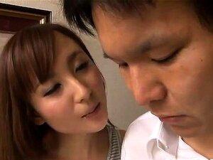 Kaori Saejima rides man mouth and cock