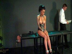 BDSM XXX Feisty ทาสหญิงเรียนรู้วิธียากจากโทอาชญา
