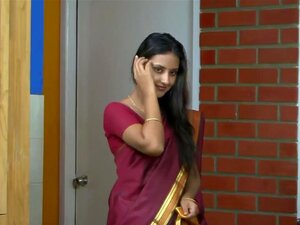 สาวอินเดียสารีสีแดง เป็นร่วมเพศ