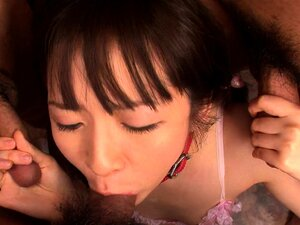 Japanese babe Ai Uehara gangbanged by a bunch of deviants