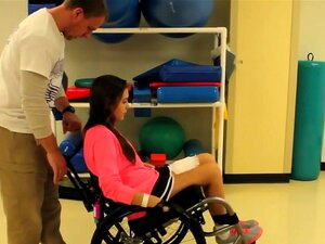 Freshman paralyzed - in therapy,