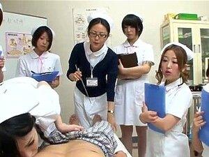 JAV nurses CFNM handjob blowjob seminar Subtitles