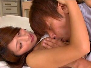 Nami Hoshino is a hot Asian female teacher, Nami Hoshino is a hot Asian teacher. She is new to the school but she is known to be a hot milf who likes getting her pussy licked and fingered before she has position 69 with a horny guest, and she also sucks his cock before taking a ride and getting cum on her sexy body.