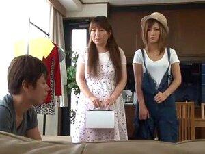 Incredible Japanese chick Sae Aihara, Riri Kuribayashi, Aika in Best Big Tits JAV movie