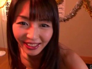Subtitled Japanese AV star Marica Hase blowjob with gokkun