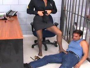 คุณครูลินน์ footsex ในถุงน่อง