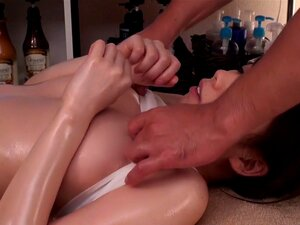 Best Japanese girl Amateur in Incredible natural tits, massage JAV movie,