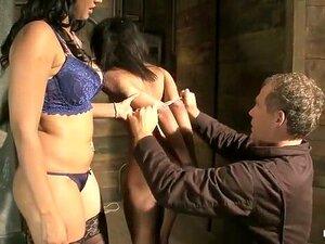 Fabulous Squirt, Threesome porn clip