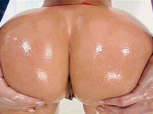 Brazzers - Dirty oiled up anal angel Jada Stevens