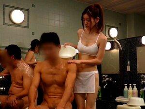 Azusa Maki, Yuria Ashina, Asami Nanase, Kurumi Ohashi in Unseen Sauna Lady part 1.1,