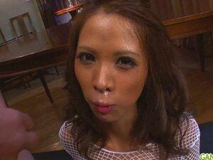 Ema Kisaki gives japan blowjob. Ema Kisaki gives japan blowjob