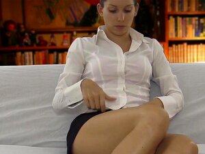 สาวขี้อายสารภาพบำบัดโรค แถบ และเพศ สัมพันธ์นิ้ว