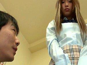 สาวสามคนและหีวัยรุ่น Anju สำคัญครีมพาย